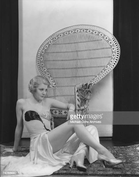 Actress Harriet Nelson aka Harriet Hilliard poses for a portrait session in circa 1935