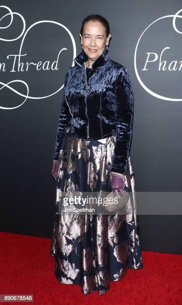 Actress Harriet Sansom Harris attends the 'Phantom Thread' New York premiere at Harold Pratt House on December 11 2017 in New York City