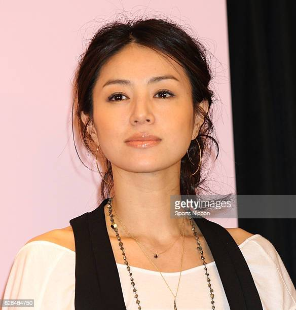 Actress Haruka Igawa attends preview screening of film 'Tokyo Park' on June 2 2011 in Tokyo Japan