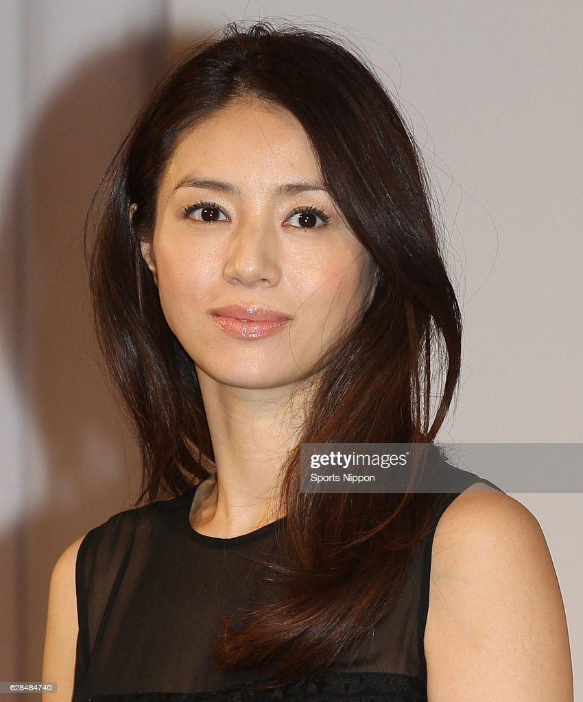 Haruka Igawa Attends Press Conference In Tokyo : News Photo