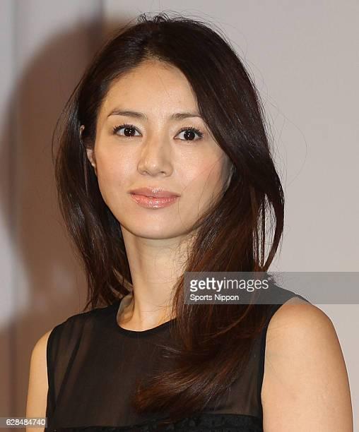 Actress Haruka Igawa attends the KDDI / au press conference on January 16 2012 in Tokyo Japan