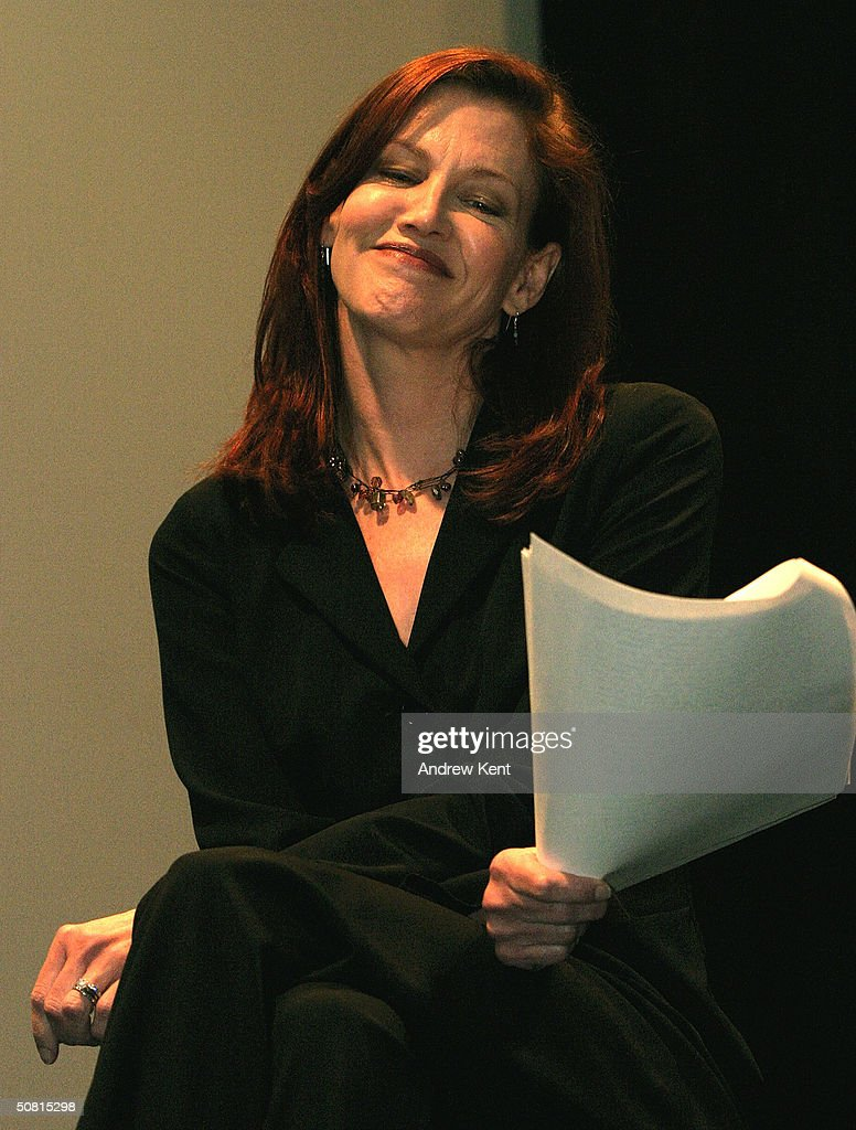 Actress Haviland Morris speaks at the Unraveling The Code: Rosalind Franklin and DNA panel during the 2004 Tribeca Film Festival May 8, 2004 in New York City.
