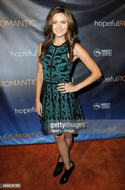 Actress Haviland Stillwell arrives for the Special Screening of Matt Zarley's hopefulROMANTIC With George Takei held at American Film Institute on...