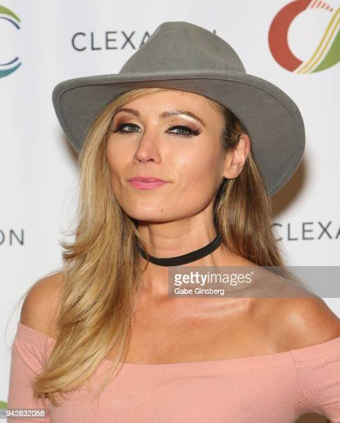 Actress Haviland Stillwell attends the ClexaCon 2018 convention at the Tropicana Las Vegas on April 6, 2018 in Las Vegas, Nevada.