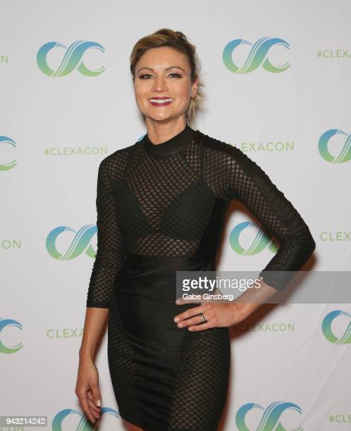 Actress Haviland Stillwell attends the Cocktails for Change fundraiser hosted by ClexaCon to benefit Cyndi Lauper's True Colors Fund at the Tropicana...