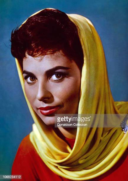Actress Haya Harareet in a scene from the movie BenHur