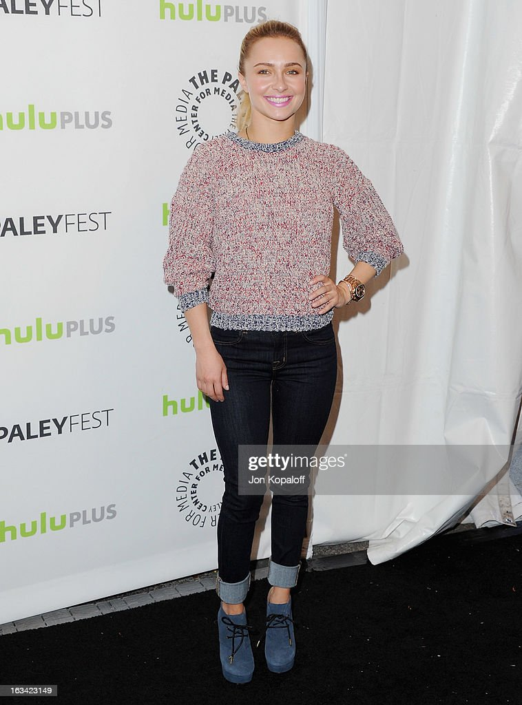 Actress Hayden Panettiere arrives at 'Nashville' part of the 30th Annal William S. Paley Television Festival at Saban Theatre on March 9, 2013 in Beverly Hills, California.