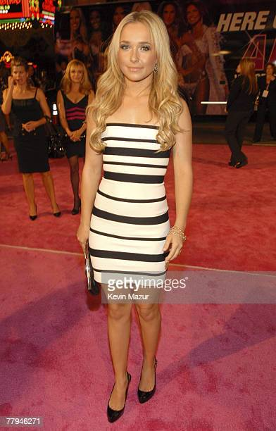 Actress Hayden Panettiere arrives at the 12th Annual Victoria's Secret Fashion Show at the Kodak Theater on November 15 2007 in Los Angeles