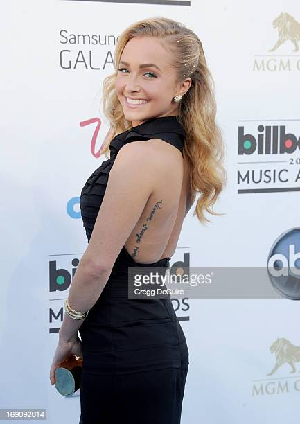 Actress Hayden Panettiere arrives at the 2013 Billboard Music Awards at MGM Grand Garden Arena on May 19 2013 in Las Vegas Nevada