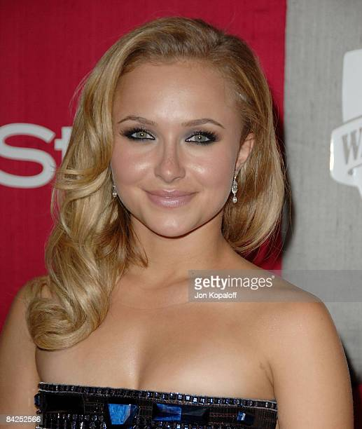 Actress Hayden Panettiere arrives at the 66th Annual Golden Globe Awards InStyle Warner Bros Official After Party at the Oasis Court at The Beverly...