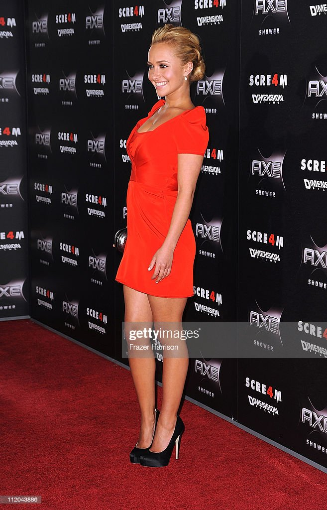 "Premiere Of The Weinstein Company's ""Scream 4"" Presented By AXE Shower - Arrivals"