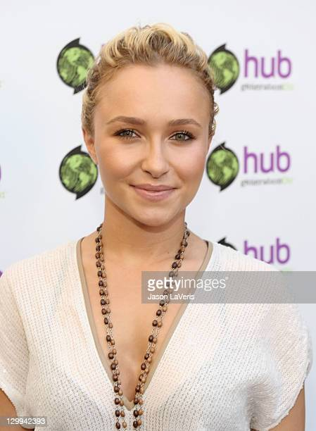 Actress Hayden Panettiere at the Hub booth during Variety's 5th annual Power Of Youth event presented by The Hub at Paramount Studios on October 22...