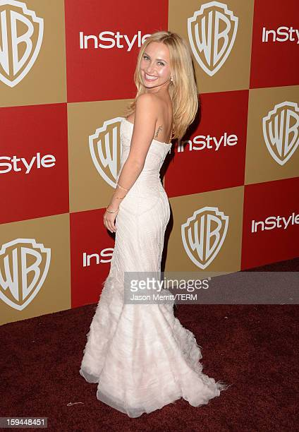 Actress Hayden Panettiere attends the 14th Annual Warner Bros And InStyle Golden Globe Awards After Party held at the Oasis Courtyard at the Beverly...