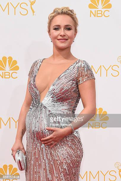 Actress Hayden Panettiere attends the 66th Annual Primetime Emmy Awards held at Nokia Theatre L.A. Live on August 25, 2014 in Los Angeles, California.