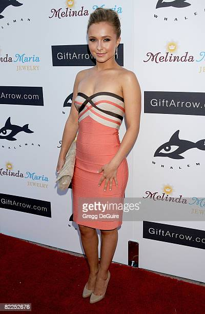 Actress Hayden Panettiere attends the Whaleman Foundation's Benefit hosted by Hayden Panetierre at Beso on August 10, 2008 in Hollywood, California.