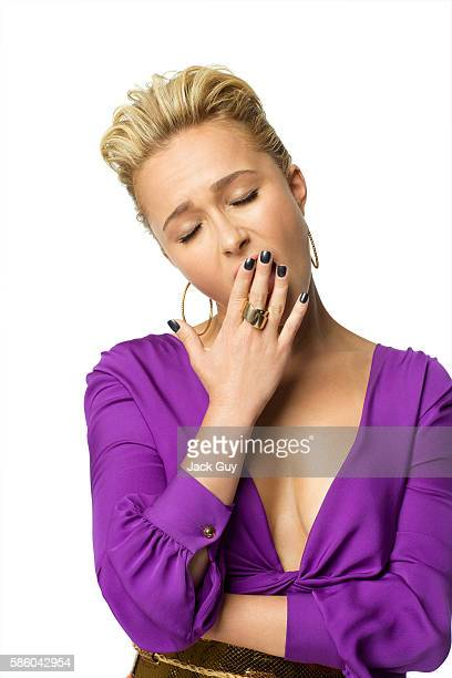 Actress Hayden Panettiere is photographed for Vegas Magazine in 2011 in Los Angeles, California. PUBLISHED