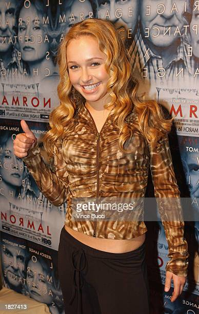 Actress Hayden Panettierre attends the screening of the HBO film 'Normal' on March 3 2003 at the Geffen Playhouse in Los Angeles California