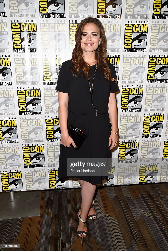 """Marvel's Agents Of S.H.I.E.L.D."" & ""Marvel's Agent Carter"" Press Line - Comic-Con International 2014 : News Photo"