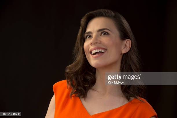 Actress Hayley Atwell is photographed for Los Angeles Times on May 7 2018 in Los Angeles California PUBLISHED IMAGE CREDIT MUST READ Kirk McKoy/Los...