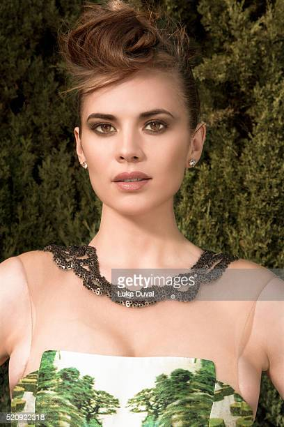 Actress Hayley Atwell is photographed for VVV Magazine on January 22 2015 in Los Angeles California