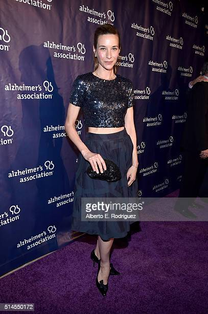 """Actress Hayley DuMond attends the 24th and final """"A Night at Sardi's"""" to benefit the Alzheimer's Association at The Beverly Hilton Hotel on March 9,..."""