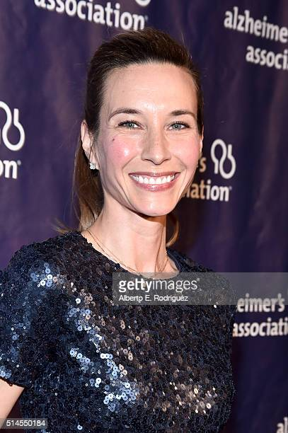 Actress Hayley DuMond attends the 24th and final A Night at Sardi's to benefit the Alzheimer's Association at The Beverly Hilton Hotel on March 9...