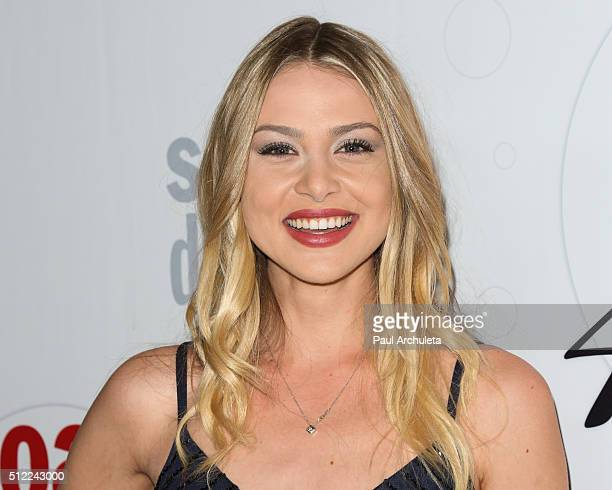Actress Hayley Erin attends Soap Opera Digest's 40th Anniversary celebration at The Argyle on February 24 2016 in Hollywood California