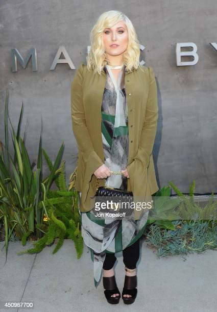 Actress Hayley Hasselhoff attends Marc By Marc Jacobs Fall/Winter 2014 Preview at Marc Jacobs on June 20 2014 in Los Angeles California