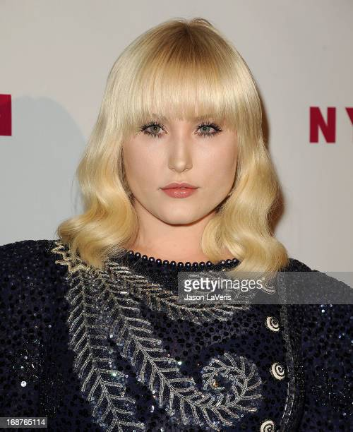 Actress Hayley Hasselhoff attends Nylon Magazine's Young Hollywood issue event at The Roosevelt Hotel on May 14 2013 in Hollywood California
