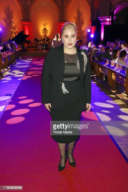 US actress Hayley Hasselhoff attends the Ernsting's Family Fashion Dinner on November 26 2019 in Hamburg Germany