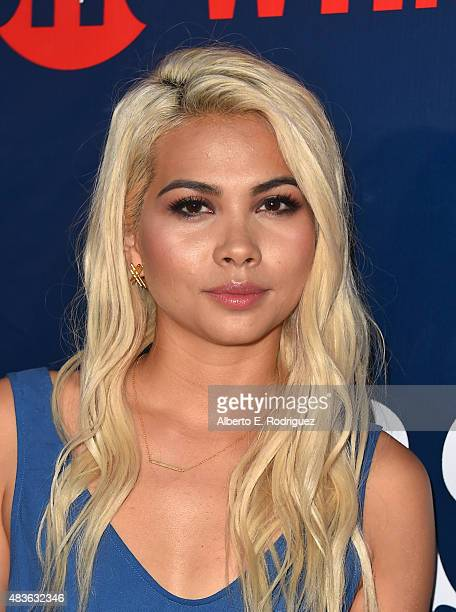 Actress Hayley Kiyoko attends CBS' 2015 Summer TCA party at the Pacific Design Center on August 10 2015 in West Hollywood California