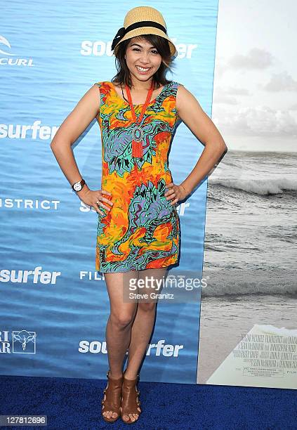 Actress Hayley Kiyoko attends the 'Soul Surfer' Los Angeles Premiere at ArcLight Cinemas on March 30 2011 in Hollywood California