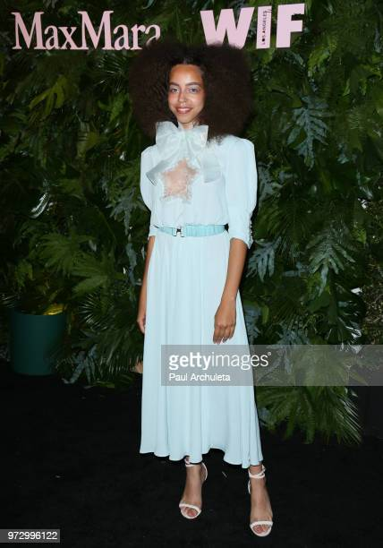 Actress Hayley Law attends the Max Mara WIF Face Of The Future event at the Chateau Marmont on June 12 2018 in Los Angeles California