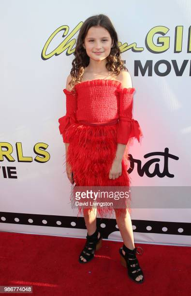 Actress Hayley LeBlanc attends GenZ Studio Brat's premiere of Chicken Girls at Ahrya Fine Arts Theater on June 28 2018 in Beverly Hills California
