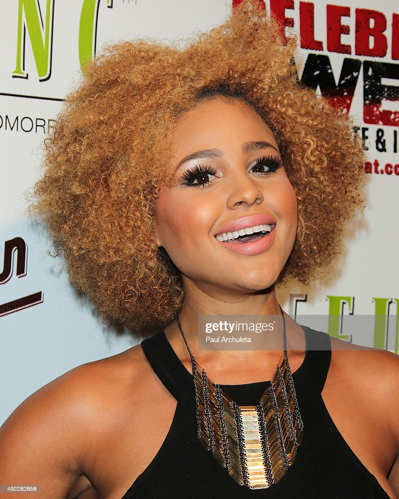 Actress Hayley Marie Norman attends Evander Holyfield's ESPYS Awards after party on July 16, 2014 in Los Angeles, California.