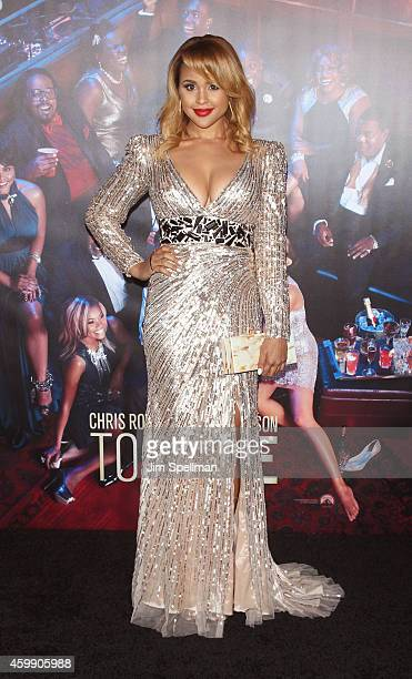 Actress Hayley Marie Norman attends the Top Five New York premiere at Ziegfeld Theater on December 3 2014 in New York City