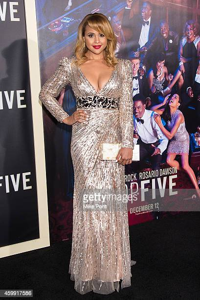Actress Hayley Marie Norman attends the 'Top Five' New York Premiere at Ziegfeld Theater on December 3 2014 in New York City