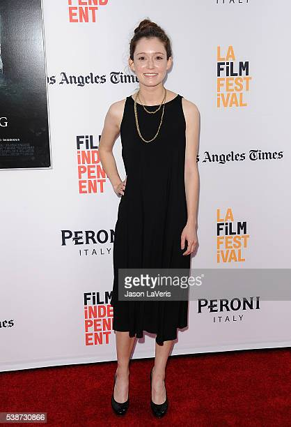 Actress Hayley McFarland attends the premiere of The Conjuring 2 at the 2016 Los Angeles Film Festival at TCL Chinese Theatre IMAX on June 7 2016 in...