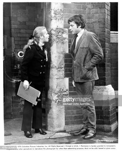Actress Hayley Mills and actor Oliver Reed in a scene from the Columbia Picture movie Take a Girl Like You circa 1970