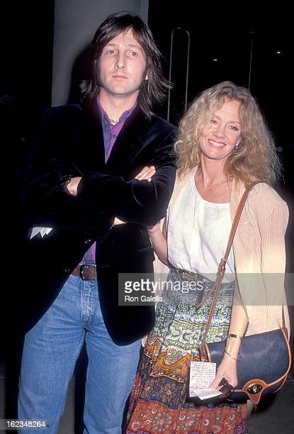 Actress Hayley Mills and guest attend the Seventh Annual American Cinema Awards Rehearsals on January 27 1990 at the Beverly Hilton Hotel in Beverly...