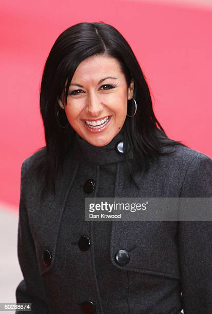 Actress Hayley Tamaddon arrives at the The Prince's Trust Celebrate Success Awards at the Odeon Leicester Square on March 18 2008 in London England