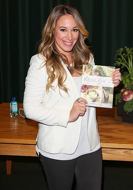 Haylie Duff Signs Copies Of Her New Cookbook \