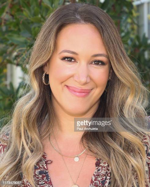 "Actress Haylie Duff visits Hallmark Channel's ""Home & Family"" at Universal Studios Hollywood on September 09, 2019 in Universal City, California."