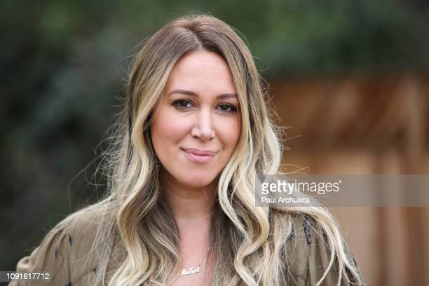 "Actress Haylie Duff visits Hallmark's ""Home & Family"" at Universal Studios Hollywood on January 08, 2019 in Universal City, California."