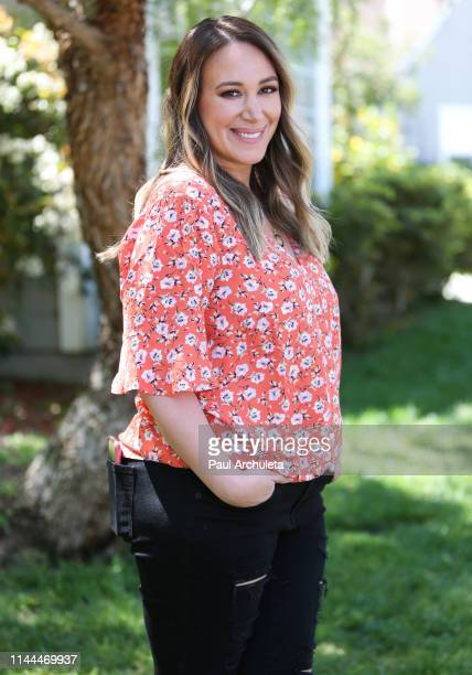"Actress Haylie Duff visits Hallmark's ""Home & Family"" at Universal Studios Hollywood on April 22, 2019 in Universal City, California."
