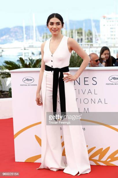 Actress Hazar Erguclu attends 'Ahlat Agaci' Photocall during the 71st annual Cannes Film Festival at Palais des Festivals on May 19 2018 in Cannes...