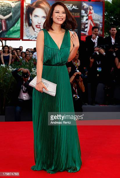 Actress He Wenchao attends the Closing Ceremony during the 70th Venice International Film Festival at the Palazzo del Cinema on September 7 2013 in...