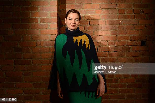 Actress Heather Burns is photographed for Los Angeles Times on December 2 2016 in New York City