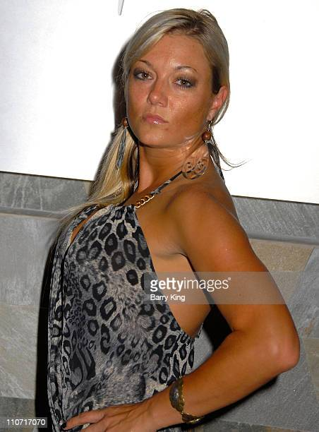 Actress Heather Chadwell attends the Marks Restaurant 20th Anniversary Party held at Marks on March 26 2008 in West Hollywood California