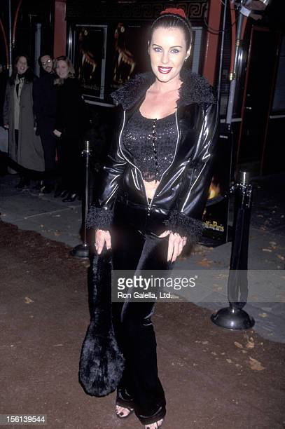 Actress Heather Elizabeth Parkhurst attends 'An American Werewolf in Paris' Hollywood Premiere on December 9 1997 at Mann's Chinese Theatre in...